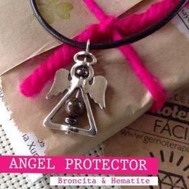 Colgante angel protector