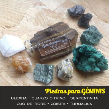 Soy GEMINIS – ¿Cuál es mi piedra?