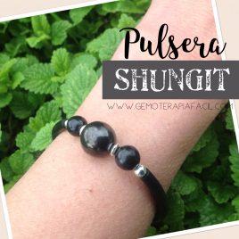 Pulsera Shungit