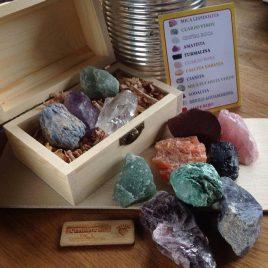 piedras de los chakras kit