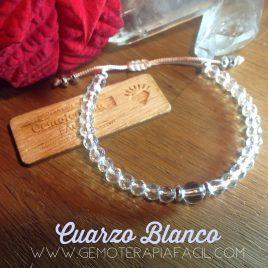 Pulsera Cuarzo Blanco