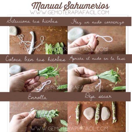 Manual como hacer sahumerios