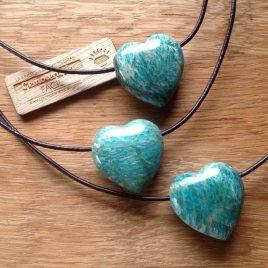 Corazón de amazonita