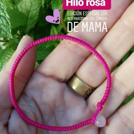 Pulsera cancer de mama 2018
