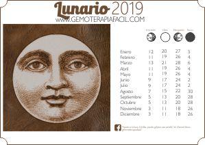 Lunario 2019 gratis
