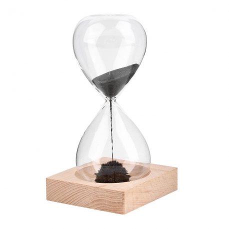 Reloj de arena de magnetita