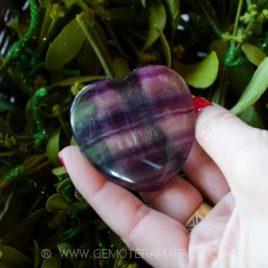 Corazón de fluorita