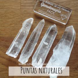 Cuarzo Blanco Puntas