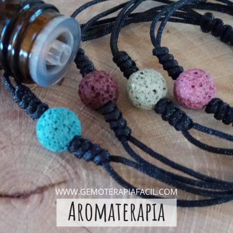 Pulsera difusor aromaterapia