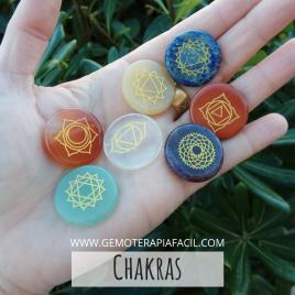 Chakras kit redondos
