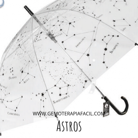 Paraguas astros