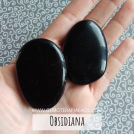 Obsidiana Rodado plano