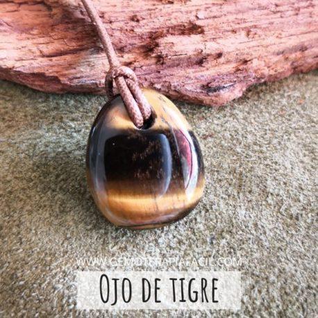 Colgante ojo de tigre