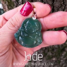 colgante buda jade