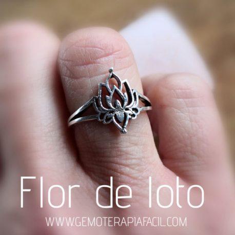 anillo flor de loto
