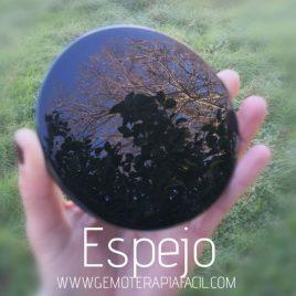 Espejo Obsidiana Negra
