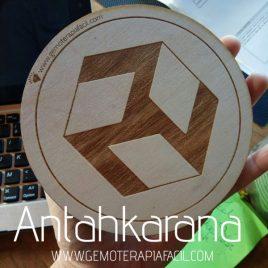 Símbolo antahkarana madera
