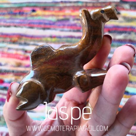 camello de piedra jaspe
