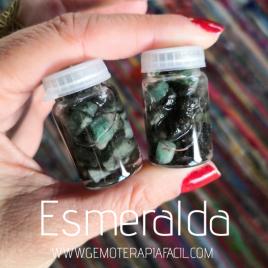 Piedra esmeralda natural