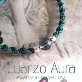 pulsera cuarzo aura