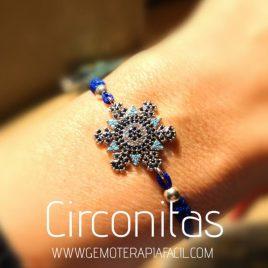 pulsera estrella circonitas