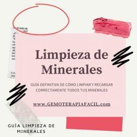 limpieza de minerales