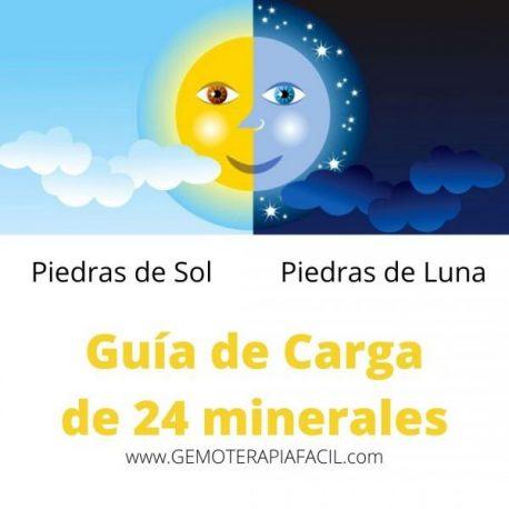 minerales de sol o de luna