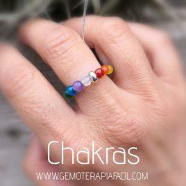 anillo de los chakras gemoterapia facil