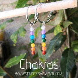 pendientes de los chakras facetados gemoterapia facil