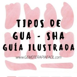 Tipos de Gua sha