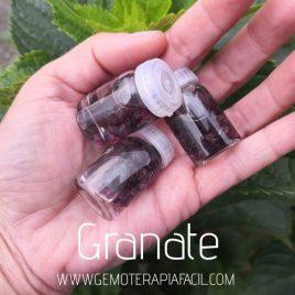 botellita de granate gemoterapia facil