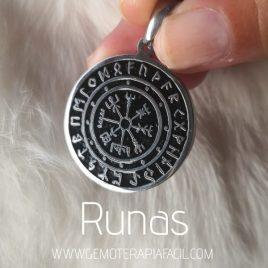 colgante runas gemoterapia facil