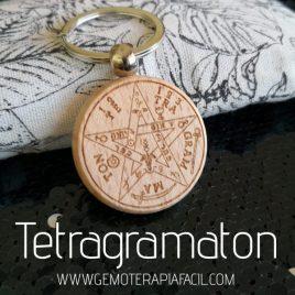 llavero tetragramaton gemoterapia facil