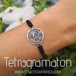 pulsera tetragramaton plata de ley