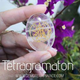 tetragramaton de cuarzo blanco gemoterapia facil