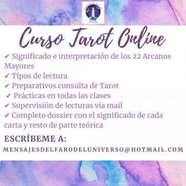 Curso de Tarot online – Mensajes del Faro del Universo