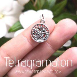 medalla tetragramaton plata de ley gemoterapia facil
