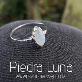 anillo de piedra luna plata de ley gemoterapia facil 1