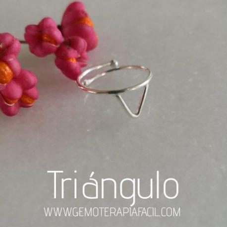 anillo triángulo gemoterapia facil