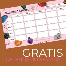 calendario semanal gratis gemoterapia facil