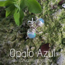 pendiente opalo azul gemoterapia facil