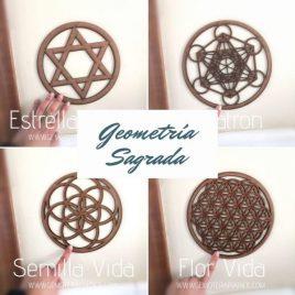 Geometría Sagrada rejilla gemoterapia facil