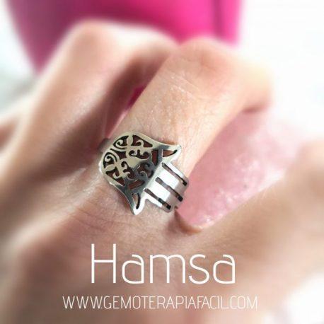 anillo mano de Fátima hamsa gemoterapia facil