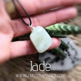 colgante jade natural gemoterapia facil