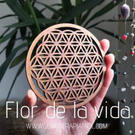 rejilla madera flor de la vida gemoterapia facil