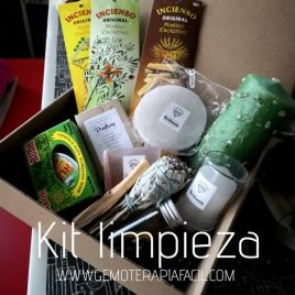 kit limpieza de minerales gemoterapia facil