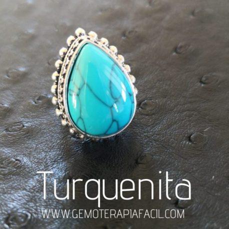 anillo turquenita gemoterapia facil