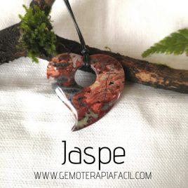 corazón de jaspe rojo gemoterapia facil