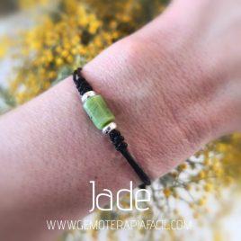 pulsera de jade natural gemoterapia facil