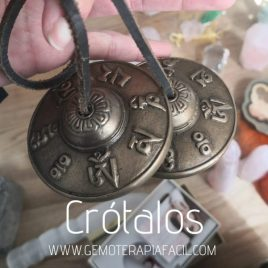 crótalos instrumento musical budista gemoterapia facil